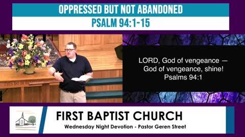 Wednesday Night Devotion - April 14, 2021