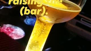 Beer glass challenge