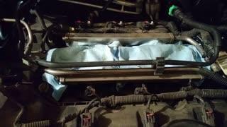 2013 Ford Explorer rear catalytic converter removal