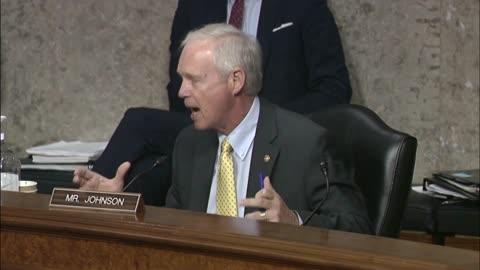 Senator Johnson at Senate Foreign Relations Committee Mark Up