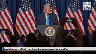Trump Renominated on First Day of Republican National Convention