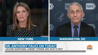 "Dr. Fauci Says Wearing Two Masks Is ""Common Sense"""