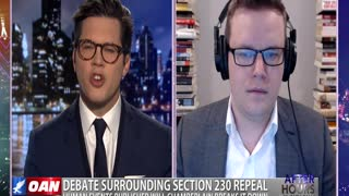 After Hours - OANN Section 230 Debate with Will Chamberlain