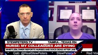 Vaxx BOMB! Texas RN Reports Nurses, Doctor DEAD After Jab!