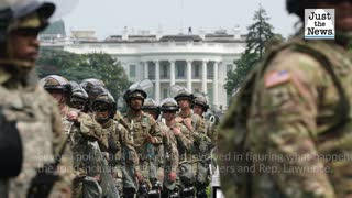 Over a dozen guardsmen stationed at U.S. Capitol sick after served undercooked food, report
