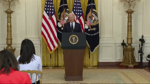 Biden's 65th Day in Office -- He Holds His 1st News Conference
