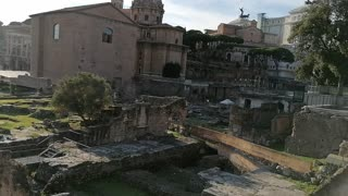 Awesome building from Roman Empire in Roma