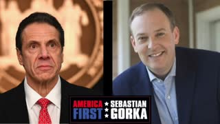 Why I'm challenging Cuomo. Lee Zeldin on AMERICA First with Sebastian Gorka