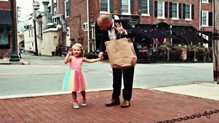 Daddy & daughter first date will melt your heart
