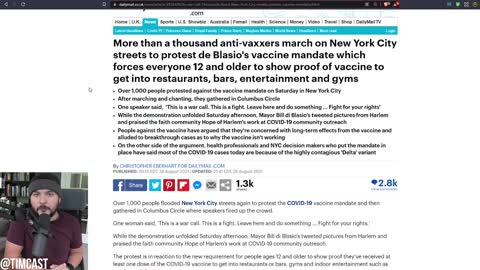 Judge STRIPS Child From Mother For Being Unvaccinated, Vaccine Mandate Protests ERUPT All Over U.S.