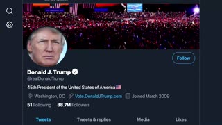 What the blocks on Trump's social media mean