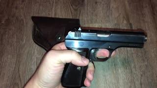 VZ27 Pistol WWII