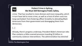 LEFTISTS Can't Admit It's THEIR FAULT Crime Is UP! BLM Has Consequences...