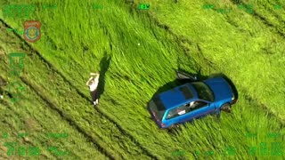 Florida Police Chase Leads To Crash After Spike Strips Deployed...