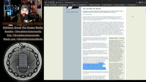 Operation Mockingbird is REAL! CIA Uses Media For Propaganda & Control.