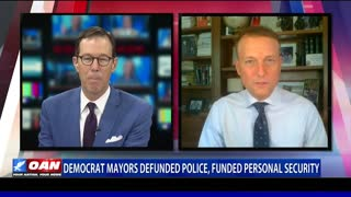 Democrat mayors defunded police, funded personal security