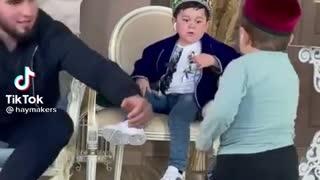 Kids fighting very funny video