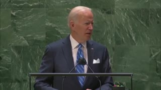 Biden CONFUSES the United Nations with the United States...!!!