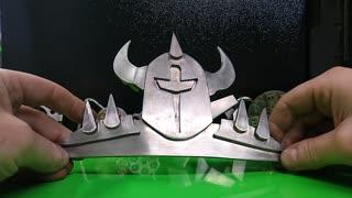Custom Spiked Armor Belt buckle RT ARTISAN WORKS