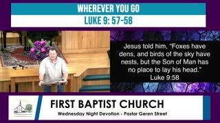 Wednesday Night Devotion - May 19, 2021