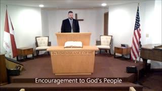 Encouragement For God's People