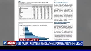 President Trump's first term immigration reform leaves strong legacy