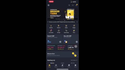 BINANCE. Una introducción a la app.