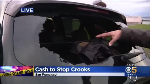 San Francisco Now Offering Cash Rewards to Stop Car Break-Ins