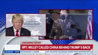 Trump Fires Back at Treasonous Gen. Milley