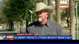 Ariz. sheriff protects citizens without Biden's help