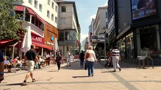 People Moving On Streets Daily Life Recordings
