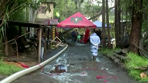 Nine dead after explosion in a Colombian mine
