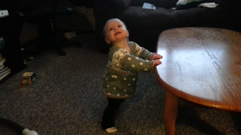 Haley Dancing for the 1st time