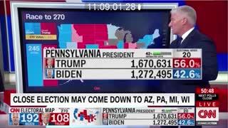 Watch Trump Ballots Switch to Biden