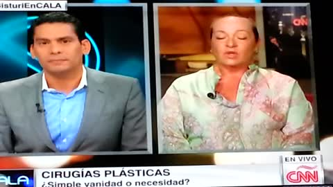 Plastic Surgery in Cancun CNN interview (Spanish)