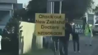 New Zealand Patriots questioning Vaccines