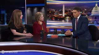 Hillary Clinton Laughs Creepily After Trevor Noah Asked Her How She Killed Jeffrey Epstein