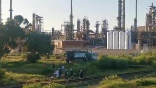 Cape Town underground fuel leak