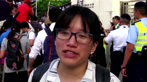 Hong Kong arrests Tiananmen vigil organizer