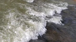 Beautiful creek with rapids part 2