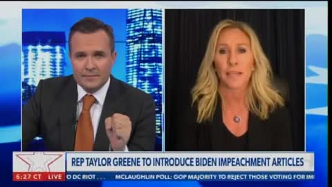 GOP Rep. Marjorie Taylor Greene to Introduce Articles of Impeachment Against Joe Biden on January 21