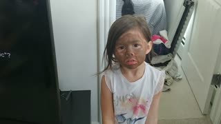 Little Girls Big Sister Impersonation