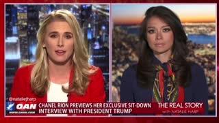 Sneak Peak with Chanel Rion Trump Interview