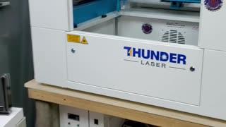 Thunder laser usa led light upgrade