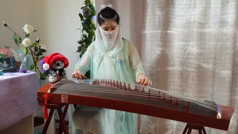 Jingle bells #Guzheng Cover#Zither Melody
