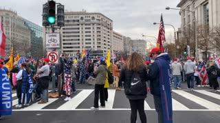 MILLION MAGA MARCH, a stroll through American Patriots !