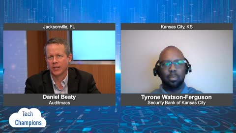 """""""Tech Champions"""" with Tyrone Watson-Ferguson from Security Bank of Kansas City"""