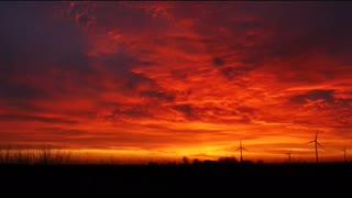 Beautiful sunset it's good