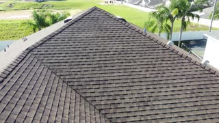 KING PALM ROOF DRONE VIDEO