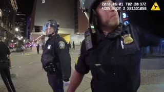 Boston: A Police Officer Is Caught Bragging About Hitting BLM Protesters With His Car.